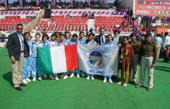 1st World Cup of Women Kabaddi in Milan