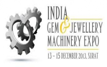 India Gem & Jewellery Machinery Expo, 13-15 December 2013, Surat
