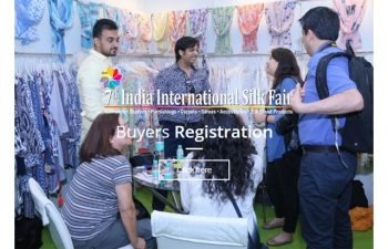 7th India International Silk Fair  1517 July 2019 at Pragati Maidan New Delhi (India)
