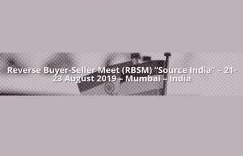 Reverse BuyersSellers Meet (RBSM), Source India Bombay Exhibition Centre, Goregaon, Mumbai, 2123