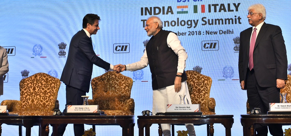 24th edition of the DST-CII Technology Summit. Presence of two world leaders further <strong>strengthened</strong> the <strong>technology</strong>-intensive business partnerships.