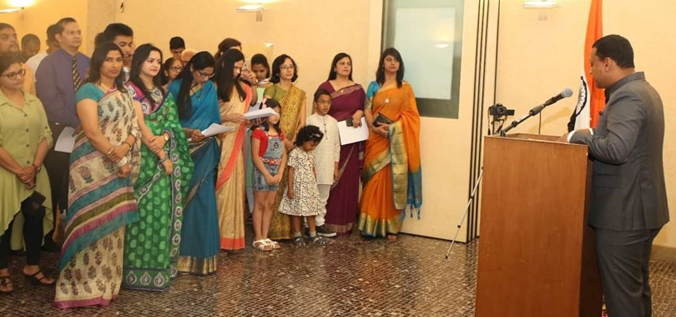 73rd Independence Day celebrations at the Consulate
