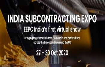 INDIA SUBCONTRACTING EXPO  EEPC INDIA VIRTUAL EXPO  27-30 OCTOBER 2020