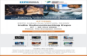 INDIA SUBCONTRACTING EXPO - EEPC INDIA VIRTUAL EXPO  Company Profile & Product Profile of the confirmed Indian participants  27-30 OCTOBER 2020