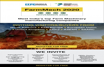 FARMMECH 2020 - EEPC India 24-27 November 2020
