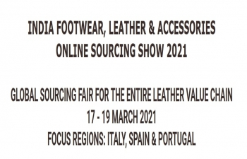 CLE - INDIA FOOTWEAR, LEATHER & ACCESSORIES ONLINE SOURCING SHOW 2021   (March 17-19, 2021)