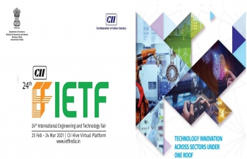 Confederation of Indian Industry (CII) is organizing IETF 2021