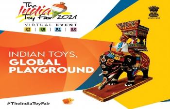 The India Toy Fair, 2021 - to be held virtually from 27th February 2021 to 2nd March 2021
